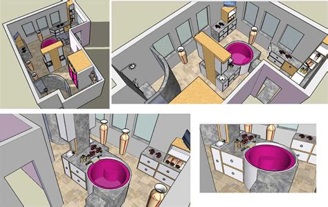 sketchup layout c est quoi salle de bain zen isly design