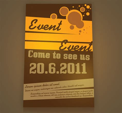 Free Event Poster Template 50 free and premium psd and eps flyer design templates