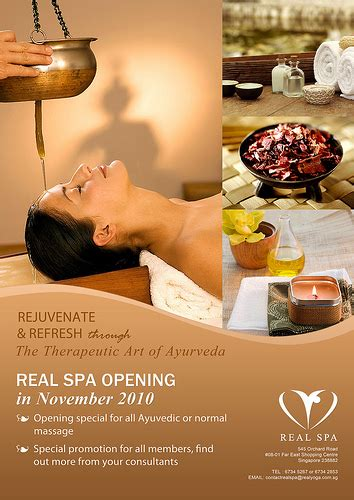 Photo Ad Real Spa Poster Flickr Photo