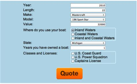 boat insurance rates quote quotes about boating safety quotesgram