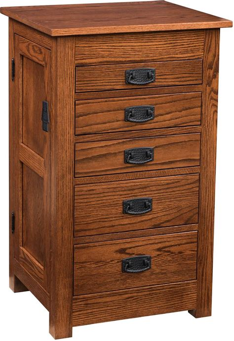mission style jewelry armoire bedroom armoires amish furniture by brandenberry amish