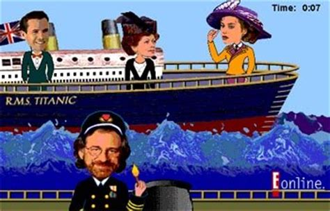 titanic film online qartulad daily dose of titanic e online offers sink the titanic
