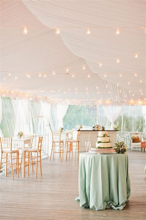 cocktail style wedding reception ideas dipped in