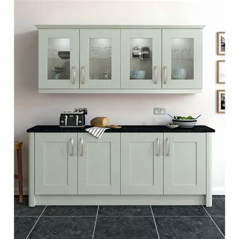 Kitchen Wall Units by Gallery Rockfort Shaker Kitchen Rowat Gray