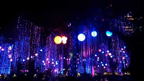 dancing lights of christmas christmas dancing lights at ayala triangle makati youtube