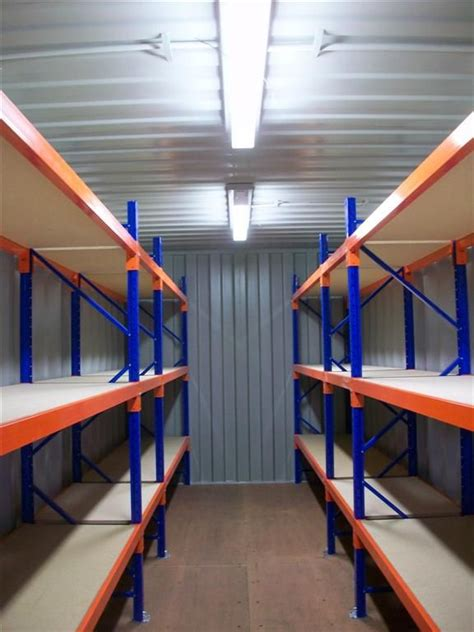 20ft container racking 6 bays