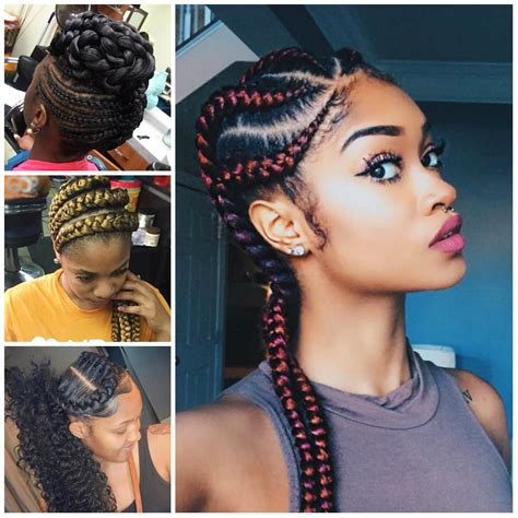 2017 Latest Braided Hair Style | cornrow braid styles 2017 42 with cornrow braid styles