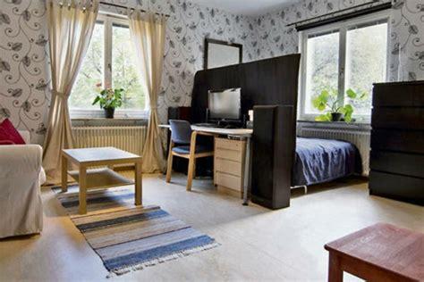 ein zimmer wohnung einzimmerwohnung einrichten tolle und praktische