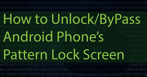 how to create pattern lock in android exle computer tricks city break the pattern lock of any