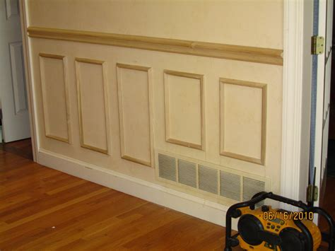 What Is Wainscot Paneling by Faux Wainscoting Applied Moldings A Concord Carpenter