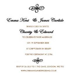 wedding invitations how to word wedding invitations