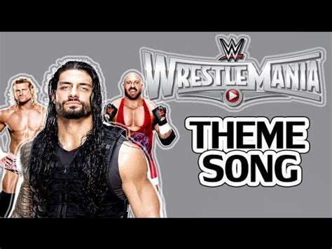 theme song wrestlemania 31 wwe wrestlemania 31 2nd official theme song quot money and