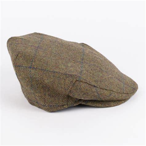 Handmade Cap - 100 wool tweed flat cap handmade in britain ebay
