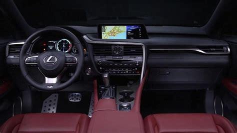 lexus rx 350 interior 2017 2017 lexus r 350 exterior interior and release date