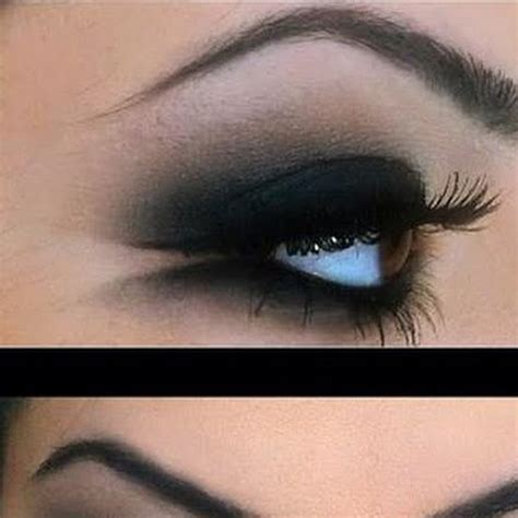10 Black Smokey Eye Tips by Black Smokey Eye Ideas For A Out Trusper