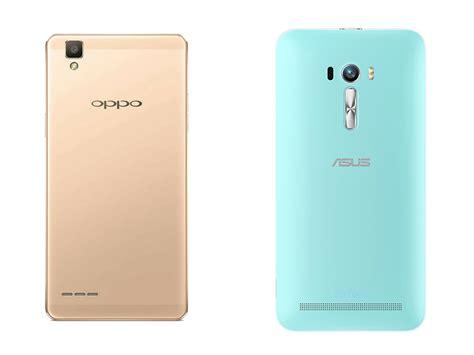 Hp Asus Zenfone Selfie Dan Spesifikasi perbandingan bagus mana hp oppo f1 vs asus zenfone selfie