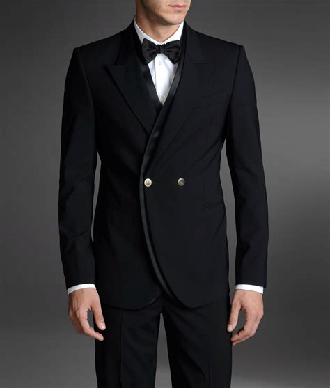 emporio armani tuxedo jacket with peak lapels in for