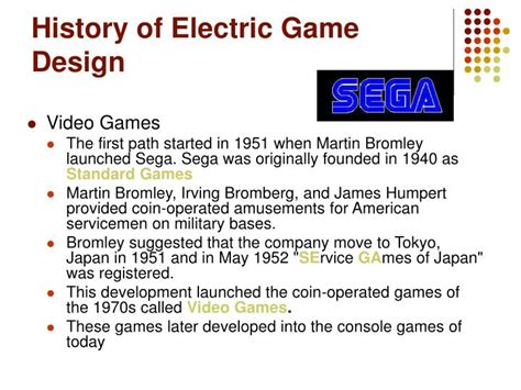 game design history ppt history of game design powerpoint presentation id