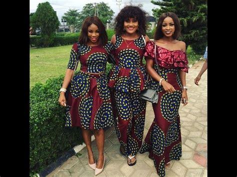 trendy nigerian ankara styles  ladies unique ankara