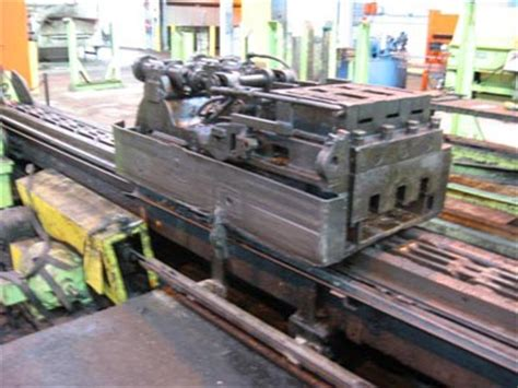 drawing bench tube draw bench used tube draw benches national machinery exchange
