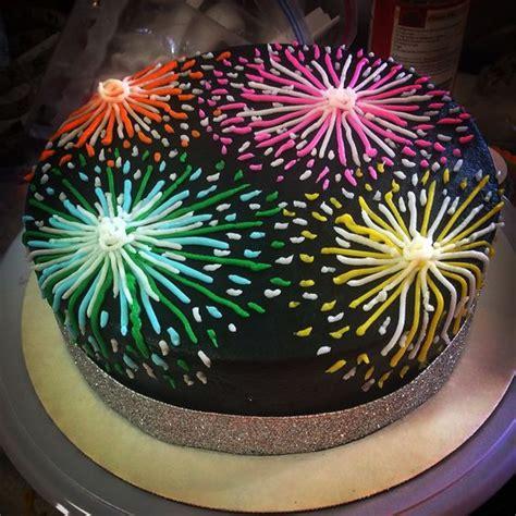 new year firework cake the world s catalog of ideas