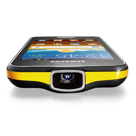 Galaxy Proyektor samsung re introduces galaxy beam projector phone