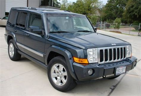 how to sell used cars 2007 jeep commander free book repair manuals sell used 2007 jeep commander overland 4wd in houston texas united states for us 16 000 00