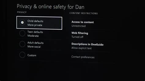 set  parental controls   xbox  video cnet