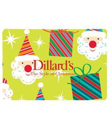 Dillard Gift Card - dillard 180 s holiday presents gift card dillards