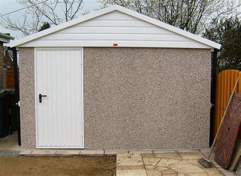Upvc Shed by Concrete Sheds Leeds West H K Sinclair