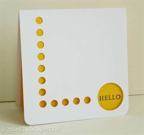 card punches cas61 just a word by apricotrose cards and paper
