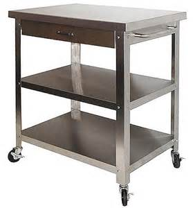 stainless steel kitchen island cart stainless steel rolling kitchen cart of rolling kitchen