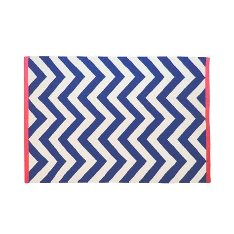 navy and coral rug tribeca chevron rug and navy with coral edge rugs soft furnishings homeware