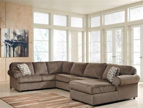 jessa place sectional dune jessa place dune right arm facing sectional from ashley