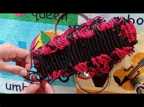 tutorial membuat tas you tube tutorial membuat alas tas tali kur sistem lilit mudah