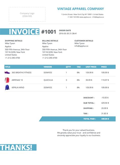 shopify invoice template invoice template shopify hardhost info