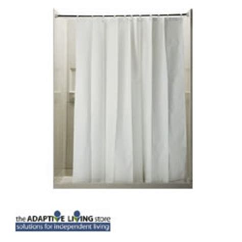 Weighted Shower Curtain by Weighted Shower Curtain Adaptive Living Store