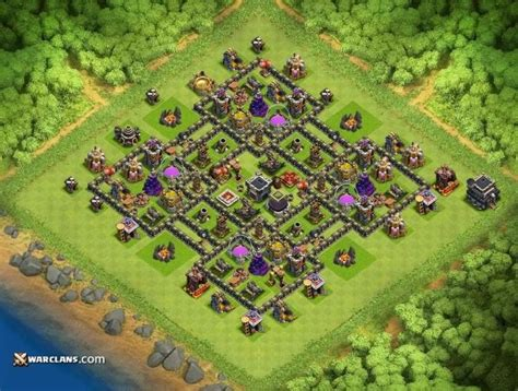 th9 best base 2016 clash of clans th9 farming bases clash of clans clashers
