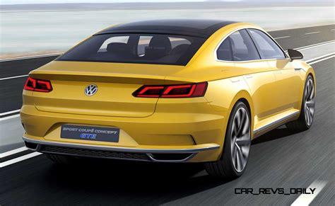 volkswagen sedan 2015 2015 volkswagen sport coupe concept gte