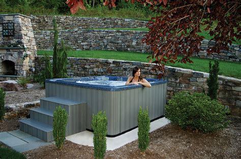 backyard spa ideas three considerable backyard spa ideas for the families and