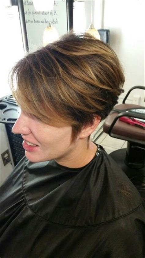 hairstyle 2 1 2 inch haircut balayage blonde pixie haircut hair pinterest blonde