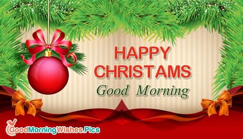 good morning merry christmas images