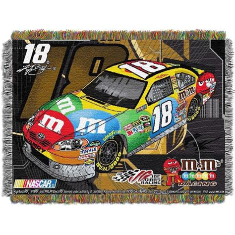 kyle busch comforter endless supplies org kyle busch nascar triple woven