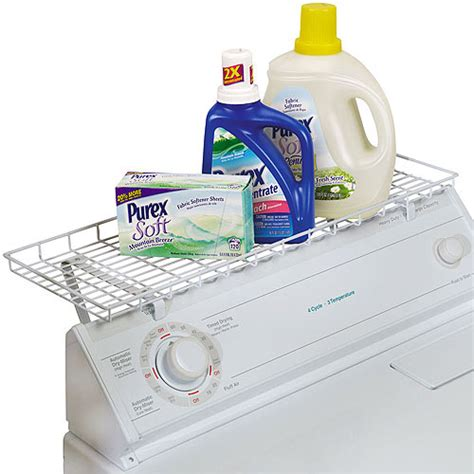 Washer Dryer Shelf by Household Essentials Laundry Shelf For Washer Or