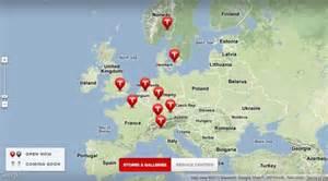 Tesla Motors Locations Tesla Motors Charging Stations Locations Ev Charger