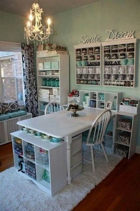 50 amazing and practical craft room design ideas and - Amazing Craft Rooms
