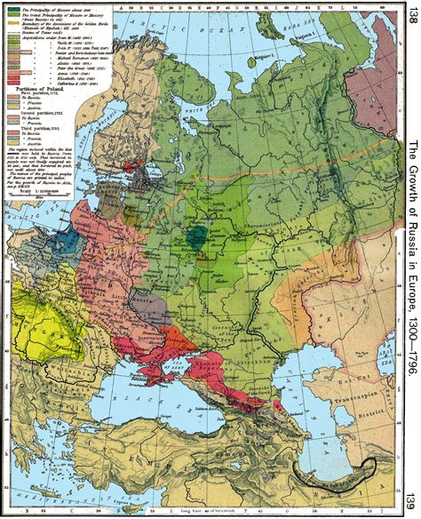 russia and eastern europe map 1300 maps of russian history
