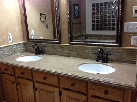 Molded Sink Vanity Top by Pyne Traditional Vanity Tops And Side Splashes Other