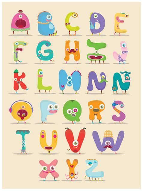 free printable monster alphabet letters monster alphabet by mjdaluz on deviantart