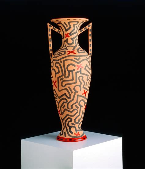 Keith Haring Vase by Untitled The Broad